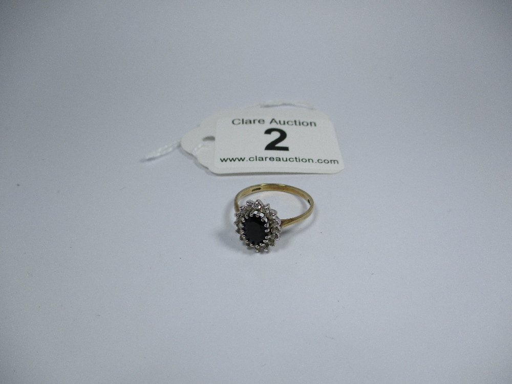 Lot 2 - A 9ct gold dress ring