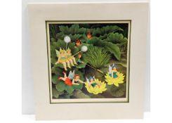 A Beryl Cook print, Fairies & Pixies 1996, 588/650
