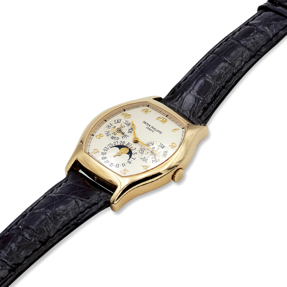 Lot 135 - Patek Philippe Calenadrio Perpetuo, wristwatch year1994