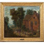 English painter 18th century 48x55 cm.