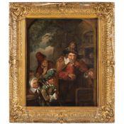 Adriaen Von Ostade, attributed Haarlem 1610 - 1685 61x49 cm.