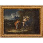 Gaspare Diziani, attributed to Belluno 1689- Venezia 1767 26x38 cm.