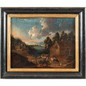 Flemish painter 17th-18th century 29x36 cm.