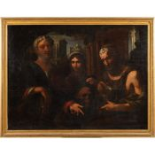Tuscan Caravaggesco painter 17th century 123x165 cm.