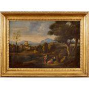 Roman painter 18th century 50x74 cm.