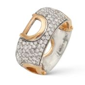 Damiani, D. Icon collection ring weight 8,8 gr.