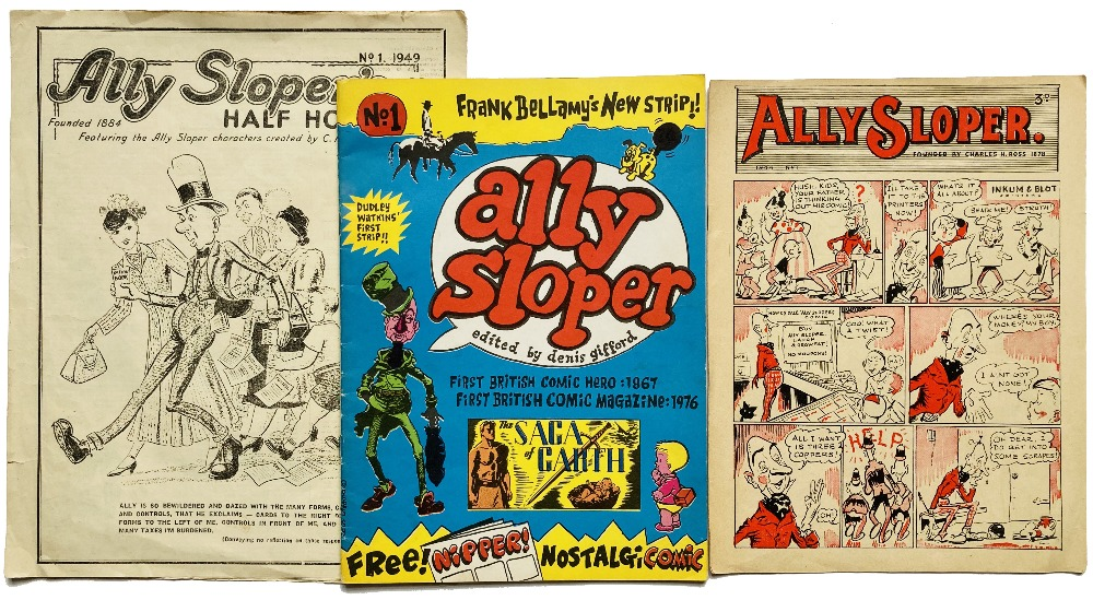 Lot 67 - Ally Sloper No 1 (1976). Published to commemorate the 'Comics 101' British Comics Convention,