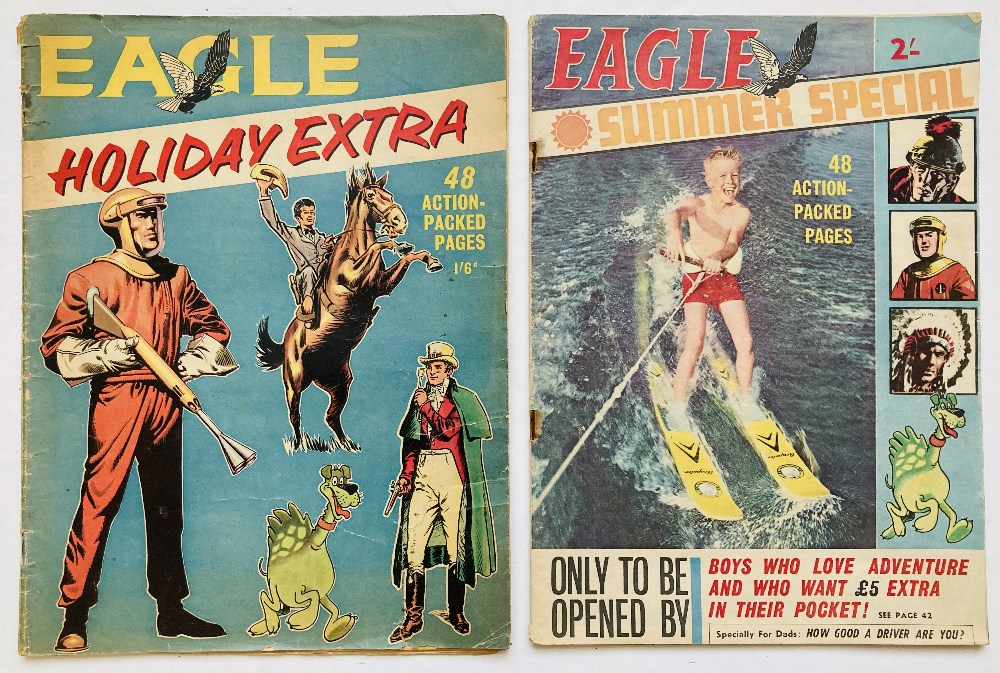 Lot 54 - Eagle Holiday Extra (1962). Starring Dan Dare in 15 illustrated pages of Operation Triceratops and
