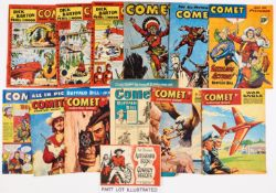 Comet (1952-59) 25 issues between 223 and 545 (Xmas 1958) with May 16 and June 20 1959. With free