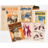 Modern Boy No 1 (1928) with free gift Metal Model Locomotive 'King George V' with Modern Boy No 1 (