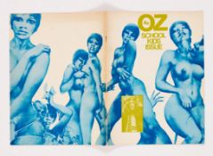 Oz Magazine 28 Schoolkids issue (1970). Right-on Seventies porno edition with Rupert in flagrante