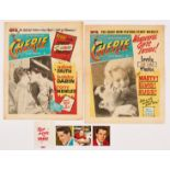 Cherie (1960) 2, 3 wfg Top Pops of 1960 colour photos of Elvis, Marty and Russ [fn] (2)