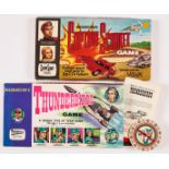 Thunderbirds Board Game (1965) Waddingtons. Complete with instructions [fn]. With Captain Scarlet