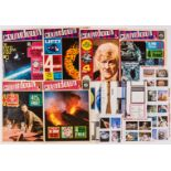 Countdown (1971) 1-6 with all free gifts from each issue comprising the Giant Spacefact Wallchart