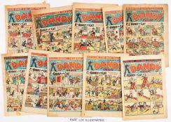 Dandy (1941-52) 188, 262, 263 April Fool, 265-267, 277, 281, 286, 345, 449, 478, 488, 502, 503, 554.