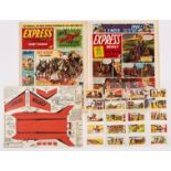 Express Weekly (1956-58) 115, 198. 115 wfg Sky Screamer, 198 wfgs Wild West Card Set of 25 cards