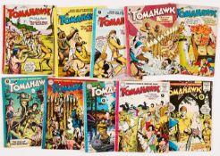 Tomahawk (1954 Strato/Thorpe & Porter) 1-10 [vg+/fn] (10)