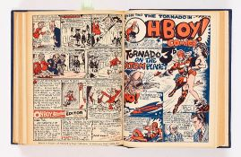 Paget Comics bound volume (1948-49) many Mick Anglo edited, written and illustrated strips including