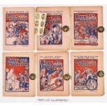 Boys' Magazine (1926-28) No 215: wfg Six Colour Transfers of Charlie Chaplin, Jack Hobbs, Tom Mix,