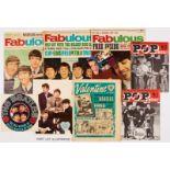 Fabulous (1964-65) Jan 18 wfg Beatles Song Book, 14 Mar Beatles cover, 26 Sept wfg Alan Freeman's