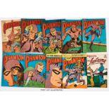 Phantom (1970s-80s) Australian reprints. 92, 584, 586, 624, 625, 632, 661, 742, 757, 792, 799,