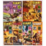 Giant War Picture Library (1964-65) 16, 34, 44, 47, 53, 58, 60, 61, 66, 69, 70, 74 [vg-/vg+] (12)