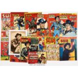 Sun (1952-59) 26 issues between 182-469 including 307 (Xmas 1954) and Sept 5 1959 with free gift
