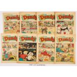 Dandy (1966) 1258-1310. Complete 53 issue year. 16 issues [vg/vg+], balance [fn/fn+] (53)