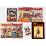 Swift Morgan 50 (1950s) Roy Carson 46 (x2), Buffalo Bill 45, 49 with Swift Morgan Spaceways comic Fa