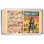 Knockout. Bound volume (1962) 6 Jan-29 Dec with (1963) 5 Jan-16 Feb last issue (prior to