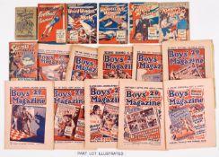 Boys' Magazine (1926-33) 257, 337, 525, 527 Fireworks issue wfg, 559 wfg, 560, 561 wfg, 562 Xmas