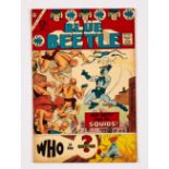 Blue Beetle 1 (1967 Charlton) including first Question Series by Steve Ditko. Cents copy, 2 small