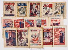 Nelson Lee Library (1919-1933) 1919 Xmas, 1920 Xmas, 1921 x 8 issues (incl Xmas), 1922 x 16, 1923
