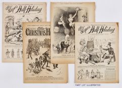 Ally Sloper's Half-Holiday (1895-96). 1895 comprises 51 issues between 558-609 (missing issues