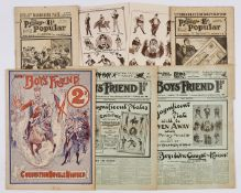 Boys' Friend No 53 Coronation Double Number (June 14 1902) [fn]. With Penny Popular Nos 1 and 2 with