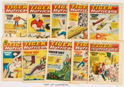 Tiger and Hurricane (1965) 22 May (First combined title) - 25 Dec Xmas issue unabridged run.