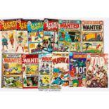 DC 1970s Mix (2). Secret Origins 1, 3-7, Wanted 1-9, DC Special Presents 8, 18, Plastic Man 11,