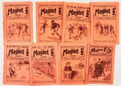 Magnet (1908-1914) 1, 3, 4, 6, 19, 22, 27, 163. Harry Wharton, Billy Bunter (Yaroo!). The Mystery of