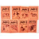 Magnet (1908-1914) 1, 3, 4, 6, 19, 22, 27, 163. Harry Wharton, Billy Bunter (Yaroo!). The Mystery of