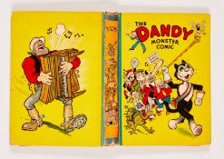 Dandy Monster Comic (1941). Korky leads the Marching Band. Bright boards, faded spine with some edge