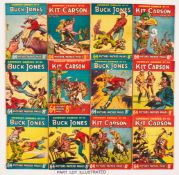 Cowboy Comics (1951) 31-50. Starring Buck Jones and Kit Carson. Bright covers with some rust spots
