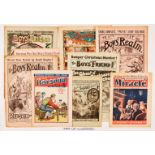 Story Paper Christmas Numbers (1906-1947). Boy's Realm 1906, 1912, 1913, Dreadnought 1914, Boys'