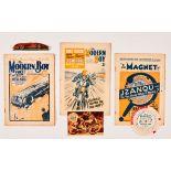 Modern Boy No 4 (1928) WFG Sunbeam Metal Model, No 449 (1936) wfg Jimmie Guthrie Champion Motor