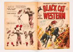Black Cat Western n.n. (No 1, 1950 Streamline). One-Shot with art by Lee Elias. It says 'All in
