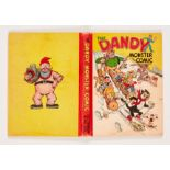Dandy Monster Comic (1945). Desperate Dan Downhill Racer! Bright boards and spine with some edge