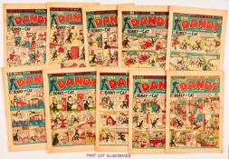 Dandy (1950-51) 424, 430, 441, 445, 450, 455, 465-467 Fireworks, 470, 476, 483, 484, 488 April Fool,