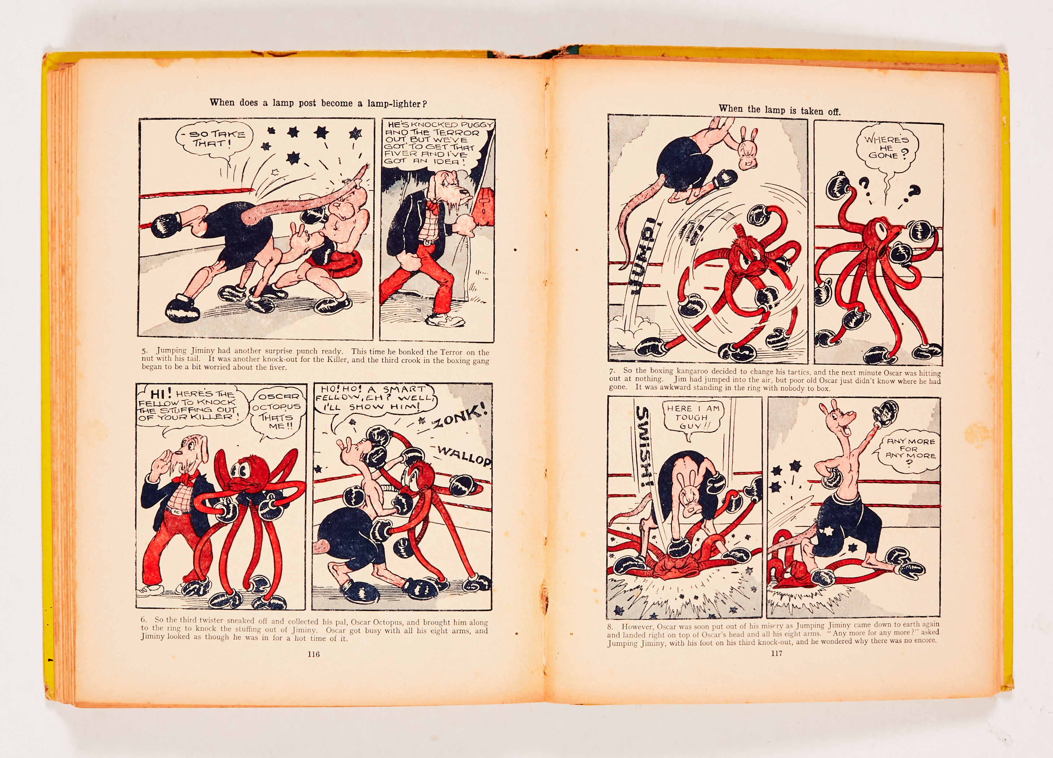 Dandy Monster Comic (1941). Korky leads the Marching Band. Bright boards, faded spine with some edge - Image 4 of 4