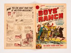 Boy's Ranch n.n. (No 1 1950 Streamline). Cover and interior art by Joe Simon and Jack Kirby.