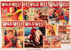 Wild West Weekly (1938-39). Vol 1: 1-43 complete. (Nos 1 & 2 with all free gifts) Vol 2: 1, 2, 46-