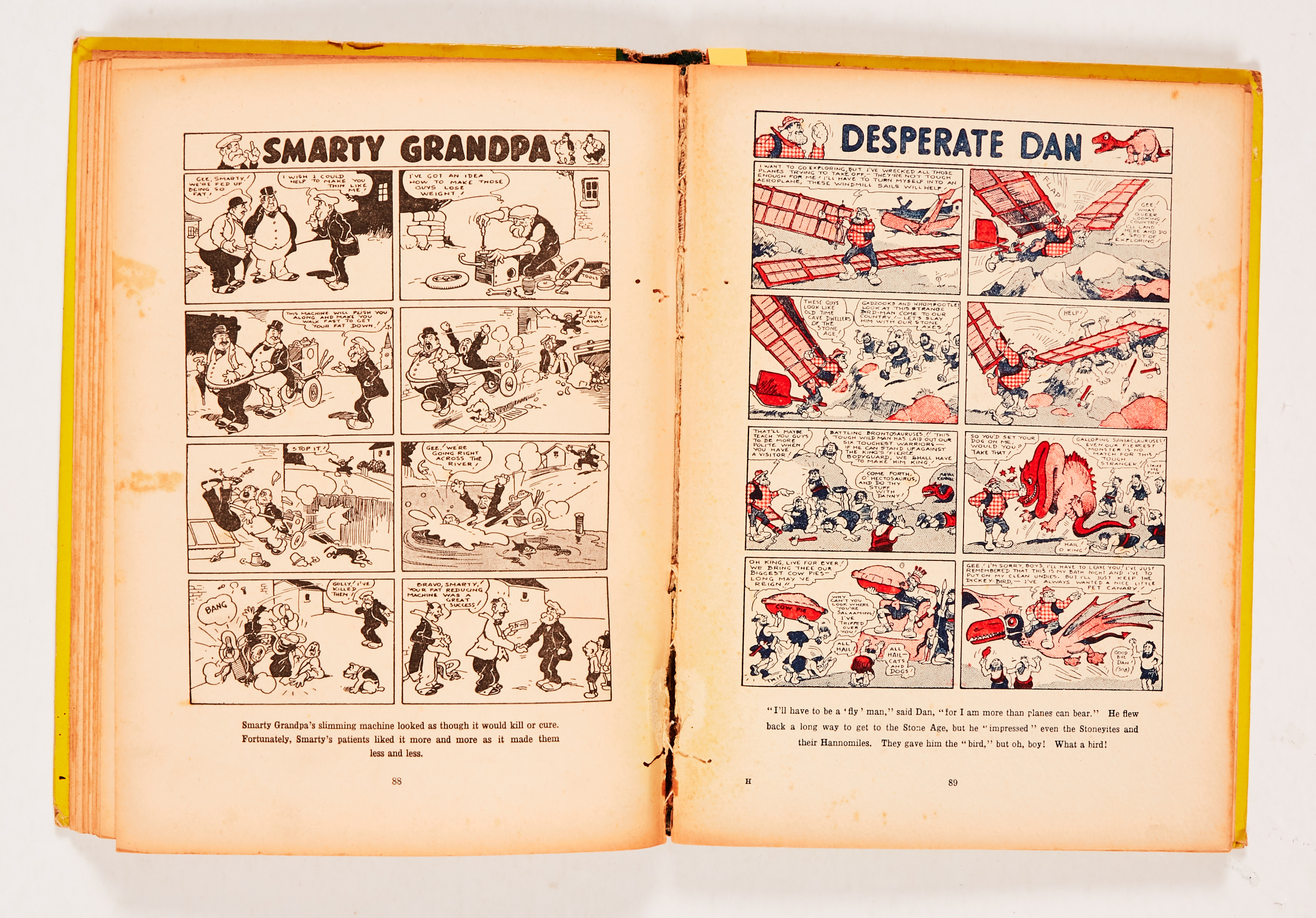 Dandy Monster Comic (1941). Korky leads the Marching Band. Bright boards, faded spine with some edge - Image 3 of 4